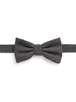 Warren Herringbone Wool-Blend Bow Tie