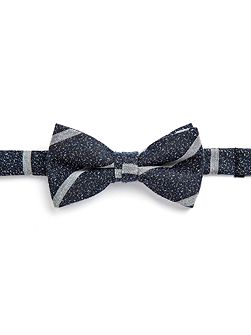 Stamford Striped Silk Bow Tie