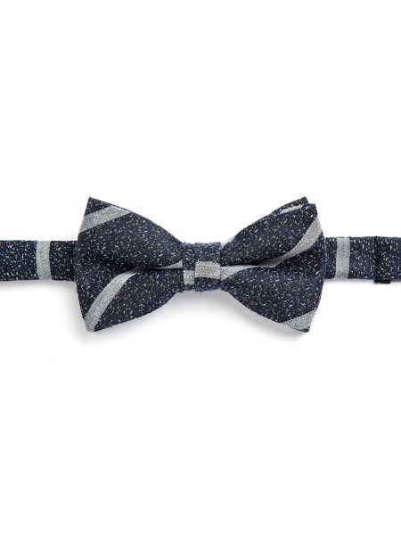 Paul Costelloe Stamford Striped Silk Bow Tie
