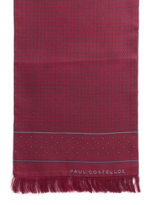 Paul Costelloe Carter Dot Silk Dress Scarf