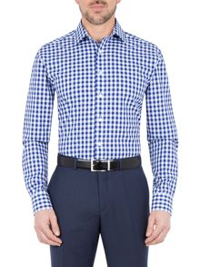 Paul Costelloe Gresham Large Gingham Check Shirt