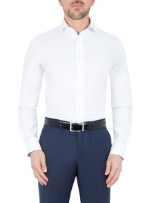 Paul Costelloe Dawes Diamond Weave Jacquard Shirt