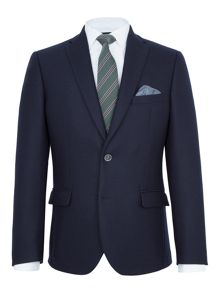 Paul Costelloe Barnes Textured Wool Slim-Fit Blazer