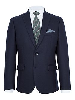 Barnes Textured Wool Slim-Fit Blazer
