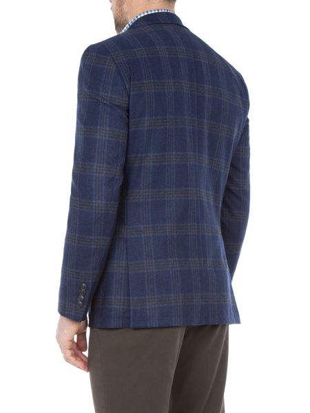 Paul Costelloe Tower Checked Wool-Blend Slim-Fit Blazer