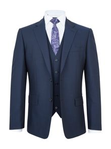 Paul Costelloe Wagner Wool-Rich Three Piece Suit