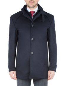 Baumler Egon Wool-Rich Car Coat