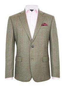 Paul Costelloe Greenwich Wool Check Blazer