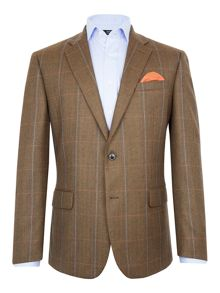 Paul Costelloe Redbridge Wool Check Blazer