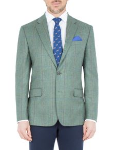 Paul Costelloe Merton Wool Check Blazer