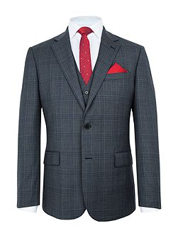 Barnet Wool Check Suit Jacket