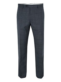 Barnet Wool Check Suit Trousers