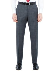 Paul Costelloe Barnet Wool Check Suit Trousers