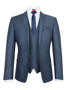 Lambretta Slim-Fit Three Piece Suit