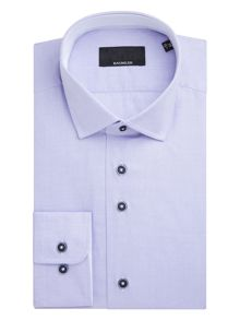 Baumler Weser Textured Weave Cotton Shirt