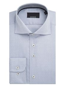 Baumler Danube Textured Weave Cotton Shirt