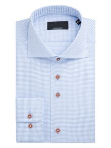 Baumler Neckar Houndstooth Cotton Shirt