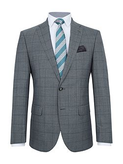 Bavaria Slim-Fit Checked Wool-Rich Suit
