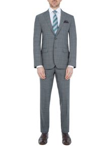 Baumler Bavaria Slim-Fit Checked Wool-Rich Suit
