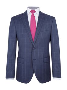 Baumler Bremen Slim-Fit Checked Wool Suit