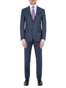 Baumler Holstein Slim-Fit Checked Wool Suit