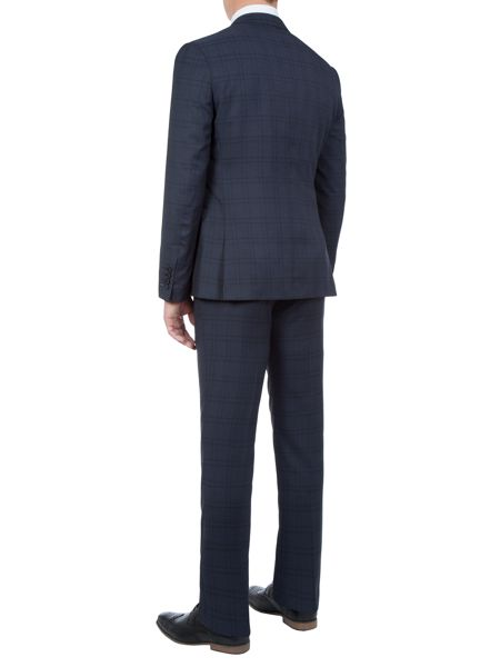 Lambretta Check Slim-Fit Two Piece Suit