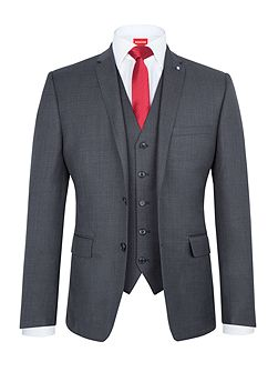 Slim-Fit Three Piece Suit