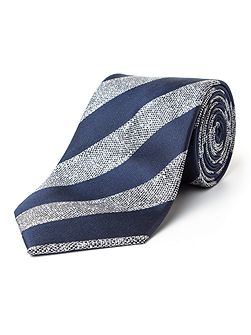 Torsten Textured Stripe Silk Tie
