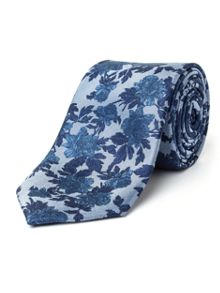 Paul Costelloe Foley Floral Silk Tie
