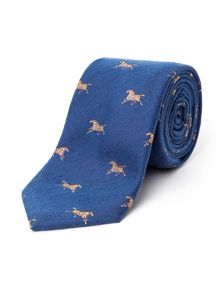 Paul Costelloe Rectory Racing Motif Tie