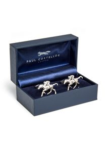 Paul Costelloe Charlton Horse & Jockey Cufflinks