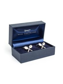 Paul Costelloe Tennis Raquet Cufflinks