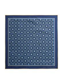 Paul Costelloe Fitzroy Floral Motif Pocket Square