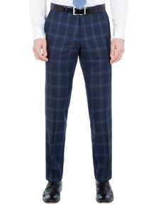 Paul Costelloe Sutton Slim Fit Wool Check Suit Trousers