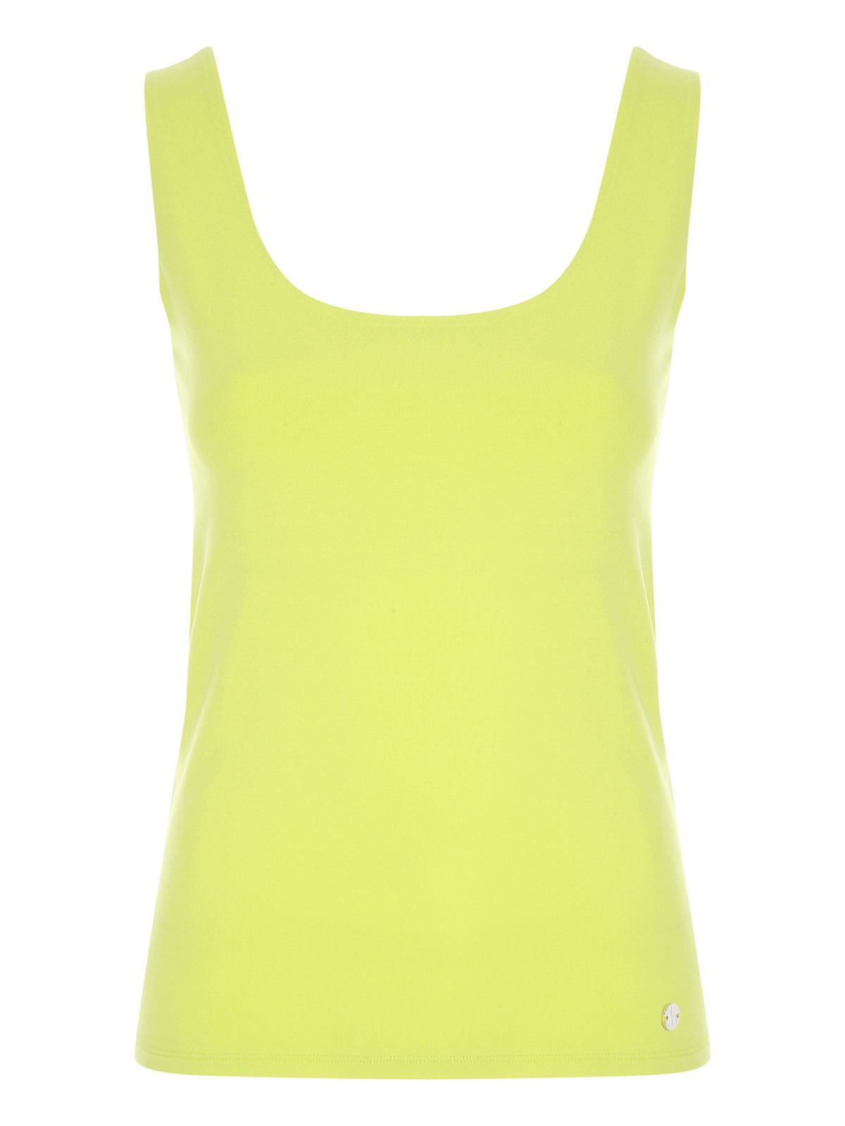 Jane Norman Bust Support Vest, Yellow