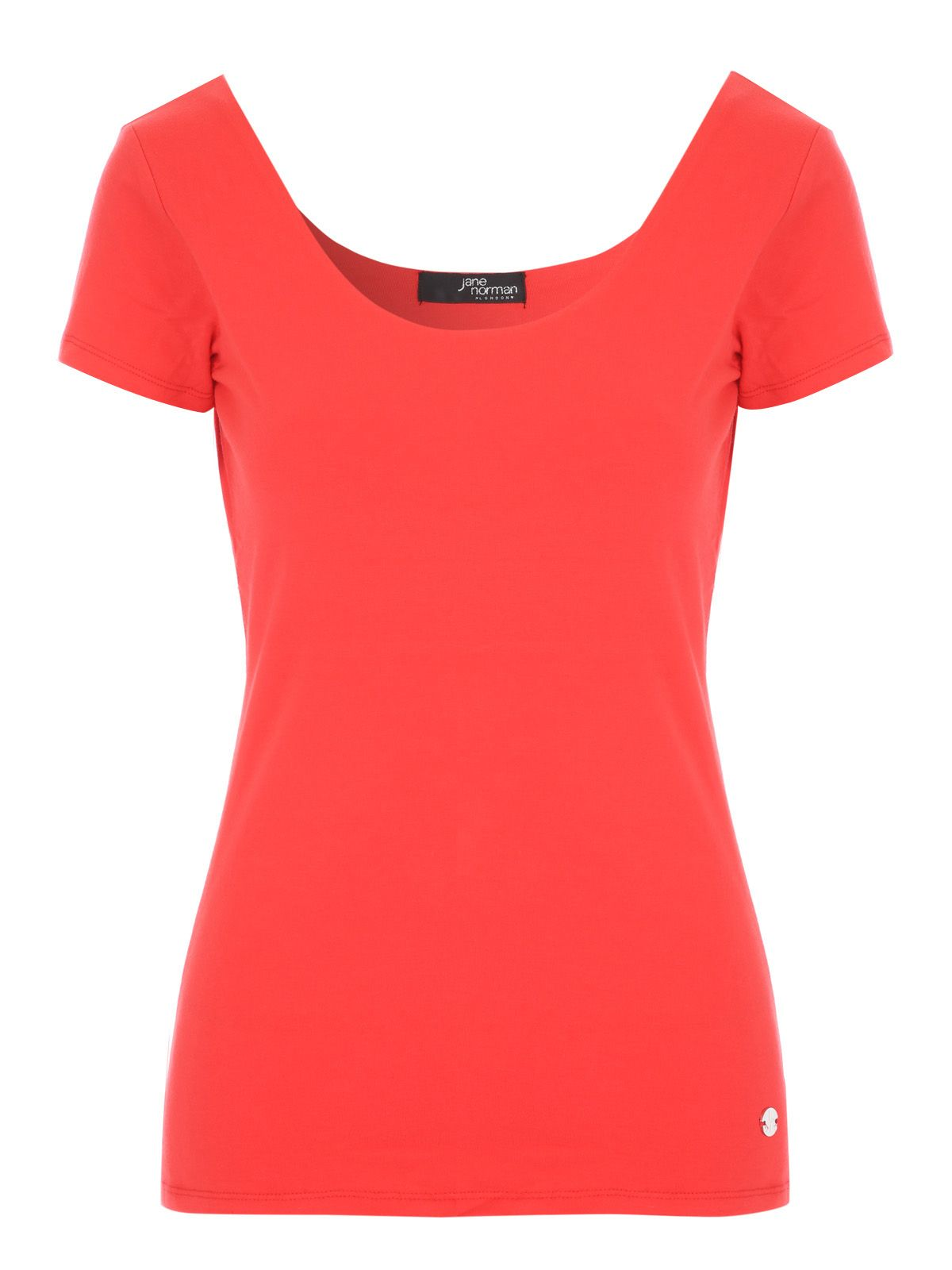 Jane Norman Bust Support T-Shirt, Red