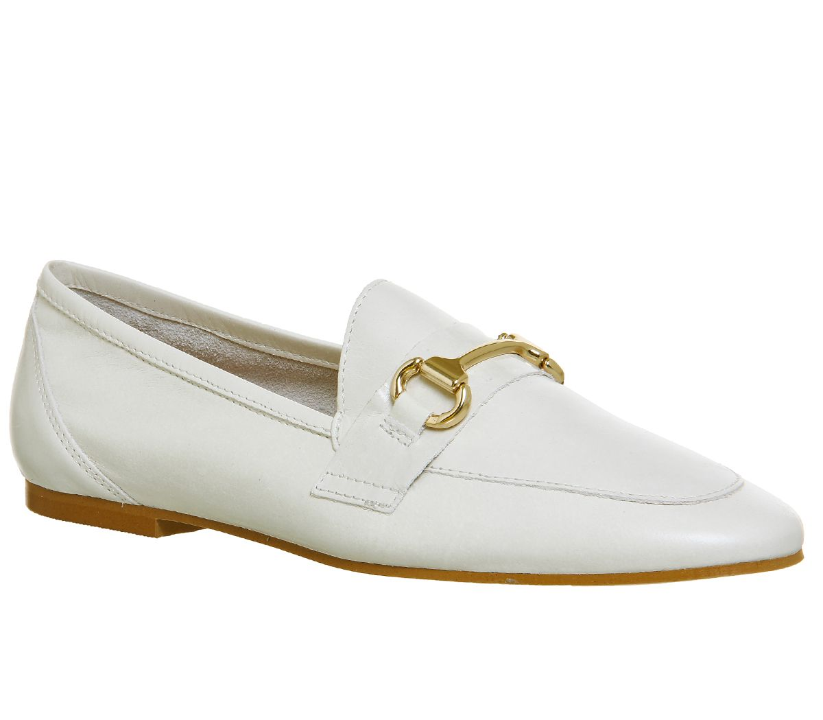 Office Destiny Trim Loafers, White