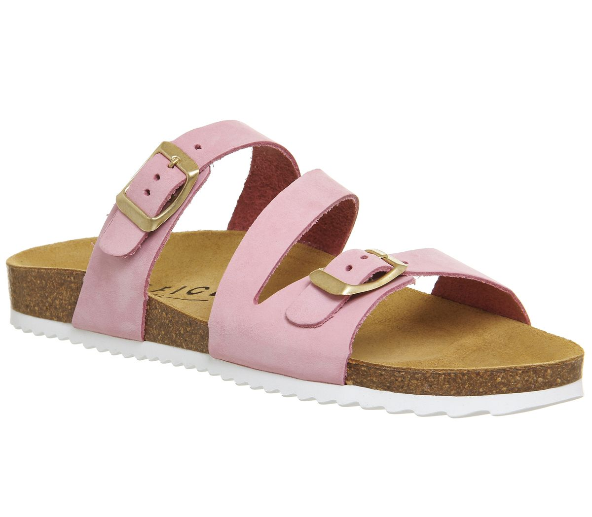 Office Bounty Cross Strap Sandals, Pink