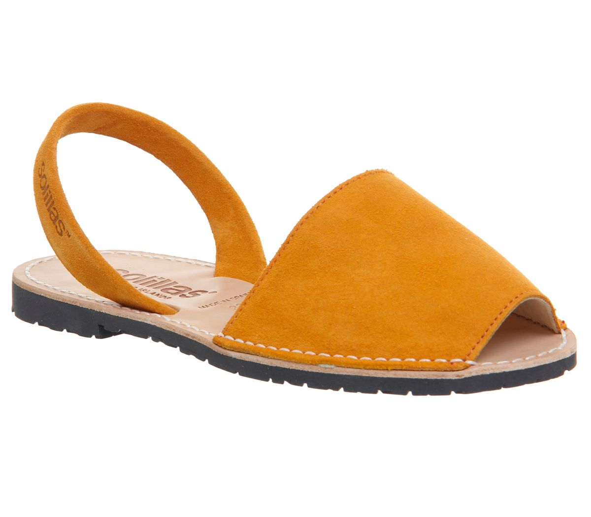 Solillas Solillas Sandals, Mustard