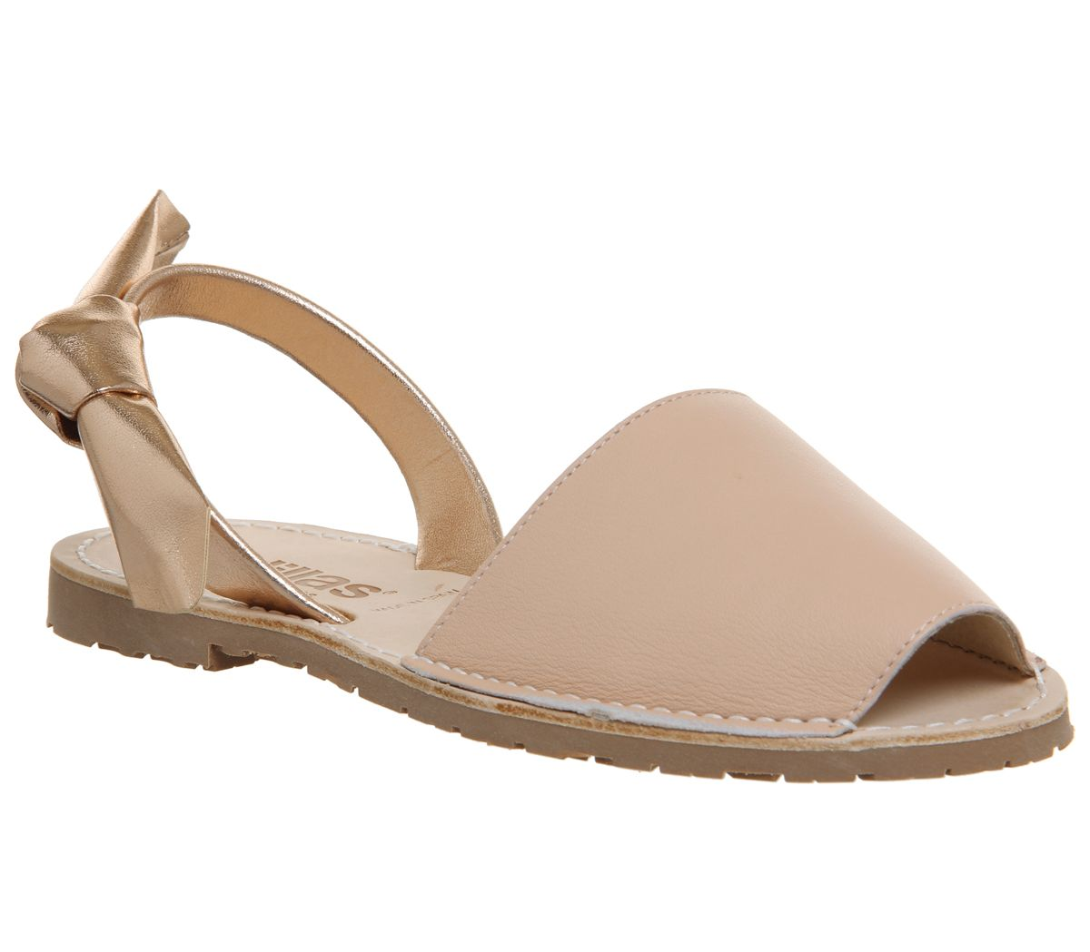 Solillas Solillas Bow Sandals, Grey
