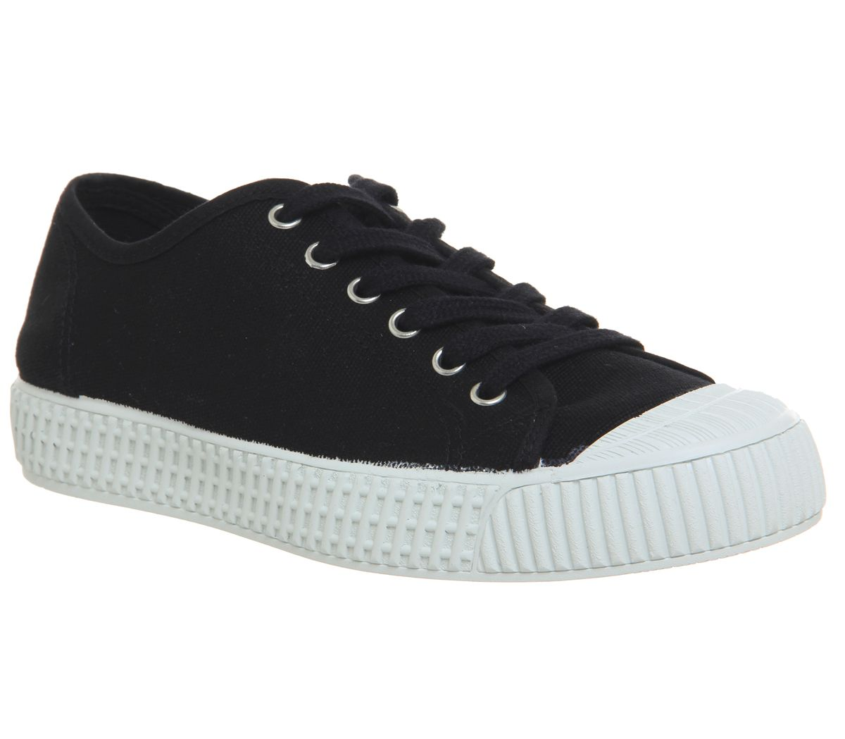 Office Frangepane Canvas Trainers, Black