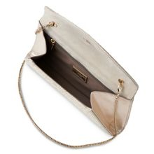 L.K. Bennett Flo curved envelope clutch bag
