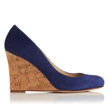 L.K. Bennett Eirene wedge court shoes