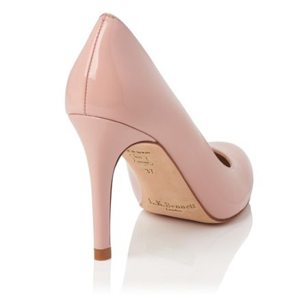 L.K. Bennett Stila single sole court shoes