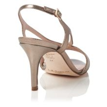 L.K. Bennett Diana single sole strap sandals