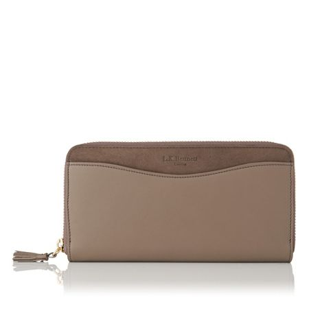 L.K. Bennett Kenza long zip around purse