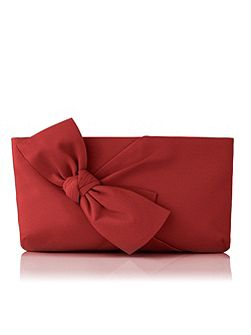 Fay zip top clutch
