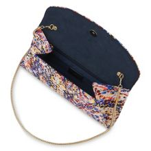 L.K. Bennett Flo curved envelope clutch