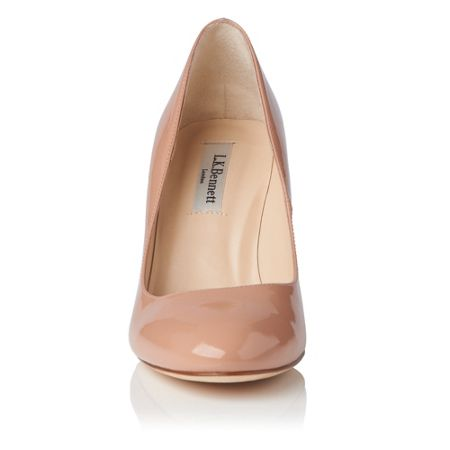 L.K. Bennett Sasha single sole court shoes