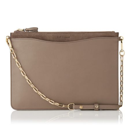 L.K. Bennett Rachel pouch with chain